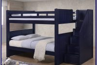 Full Over Full Bunk Beds With Steps