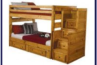 Full Over Full Bunk Beds Wooden