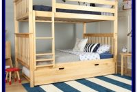 Full Over Futon Bunk Bed Wood