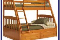 Full Over Queen Bunk Bed Wood