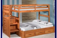 Full Size Bunk Bed Plans With Stairs