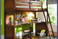 Full Size Bunk Beds With Desk Under