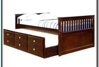 Full Size Captains Bed With Trundle