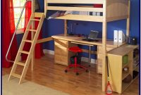 Full Size Loft Bed Plans With Ladder