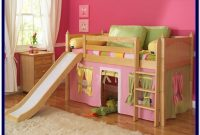 Full Size Loft Bed With Slide