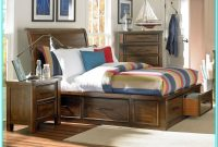 Full Size Sleigh Bed With Storage Drawers