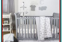 Grey And White Cot Bedding Sets