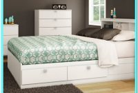 Ikea Full Size Platform Bed With Drawers