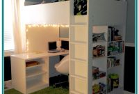 Ikea Loft Bed With Desk And Shelf
