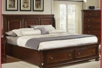 King Bed Frame With Headboard Wood