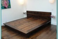 King Size Bed Frame Plans Platform