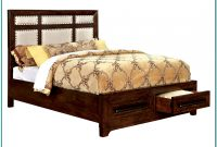 King Size Bed Frame Plans With Storage