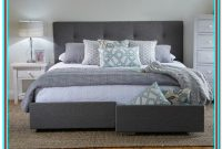 King Size Bed Frame With Drawers And Headboard