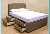 King Size Bed Frame With Drawers Plans