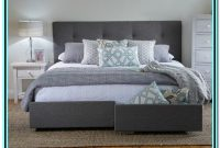 King Size Bed Frame With Storage And Headboard