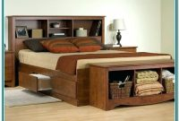 King Size Bed Frame With Storage Underneath Plans