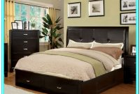 King Size Platform Bed With Drawers Underneath