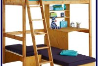 Loft Bed With Desk And Sofa