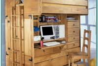 Loft Bed With Desk And Storage Plans