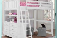 Loft Bed With Desk For Teenage Girl