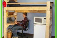 Loft Bed With Desk Underneath Diy