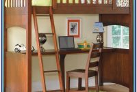 Loft Bed With Desk Wood