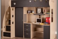 Loft Bed With Staircase And Desk