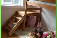 Loft Bed With Stairs Diy Plans