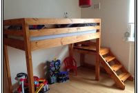 Loft Bed With Stairs Plans Free