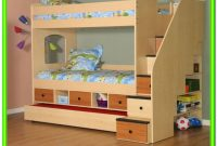 Loft Bed With Storage Stairs Plans
