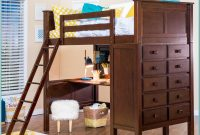 Loft Bunk Bed With Desk And Dresser