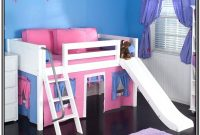 Low Loft Bed With Stairs And Slide