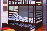 Merax Twin Over Twin Bunk Bed With Trundle