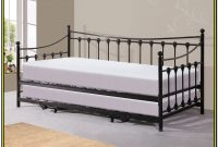 Metal Daybed With Trundle And Mattresses
