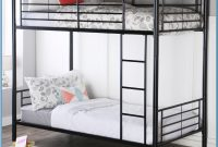 Metal Twin Over Twin Bunk Bed With Trundle