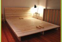 Platform Bed Frame Queen Diy