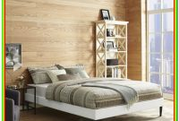 Platform Bed Frame Queen White
