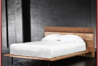 Platform Bed Frame With Headboard King