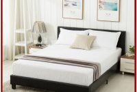 Platform Bed Frame With Headboard Queen