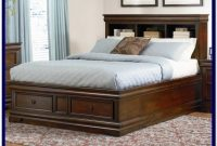 Platform Bed Frame With Storage King
