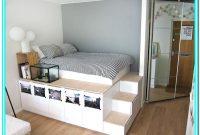 Platform Bed With Storage Diy