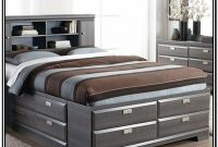 Queen Bed Frame With Storage And Headboard