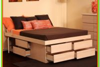Queen Bed Frames With Storage And Headboard