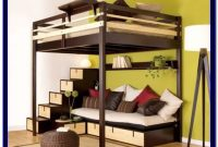 Queen Bunk Bed With Desk Plans
