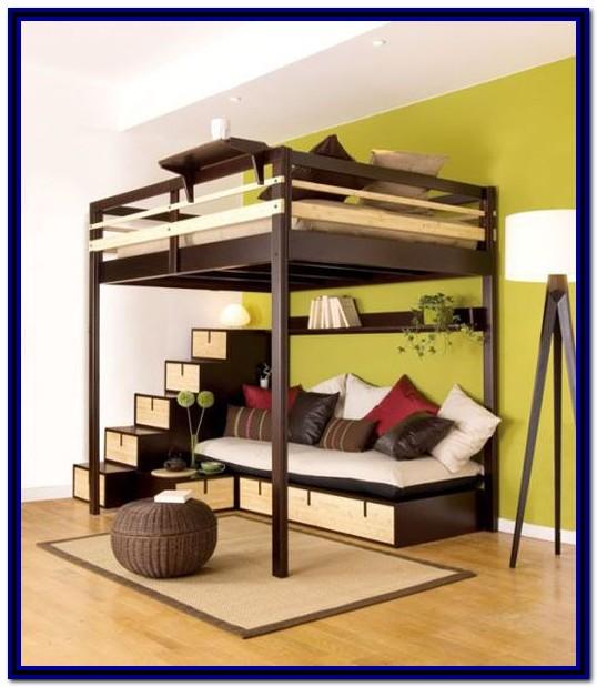 Queen Bunk Bed With Desk Plans