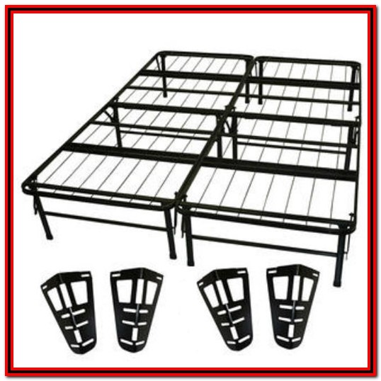 Queen Metal Bed Frame With Headboard And Footboard Brackets