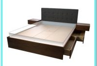 Queen Platform Bed With Drawers Canada