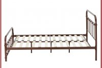 Queen Size Sturdy Metal Bed Frame With Headboard And Footboard Brackets