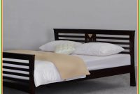 Solid Hardwood Platform Bed Frame Queen Size