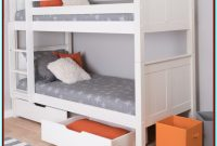 Top Bunk Bed With Storage Underneath